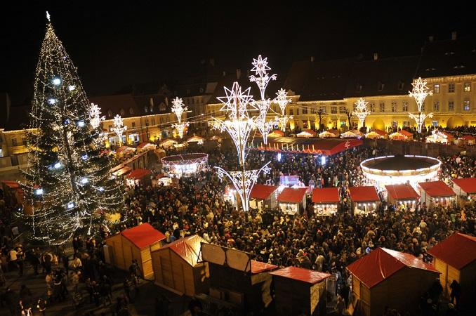 Fiera di Natale a Sibiu