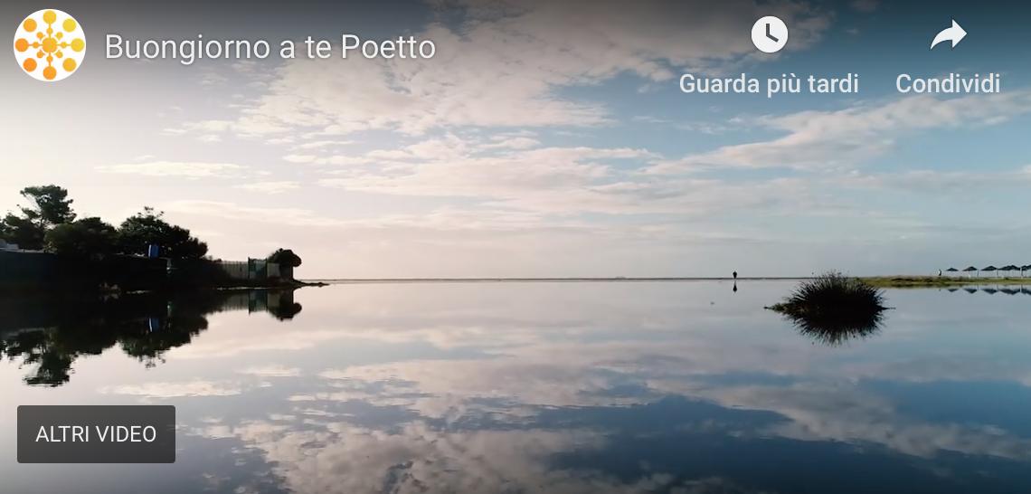 Cagliari spiaggia del Poetto dopo la mareggiata